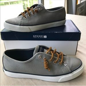 Sperry top sider canvas shoes